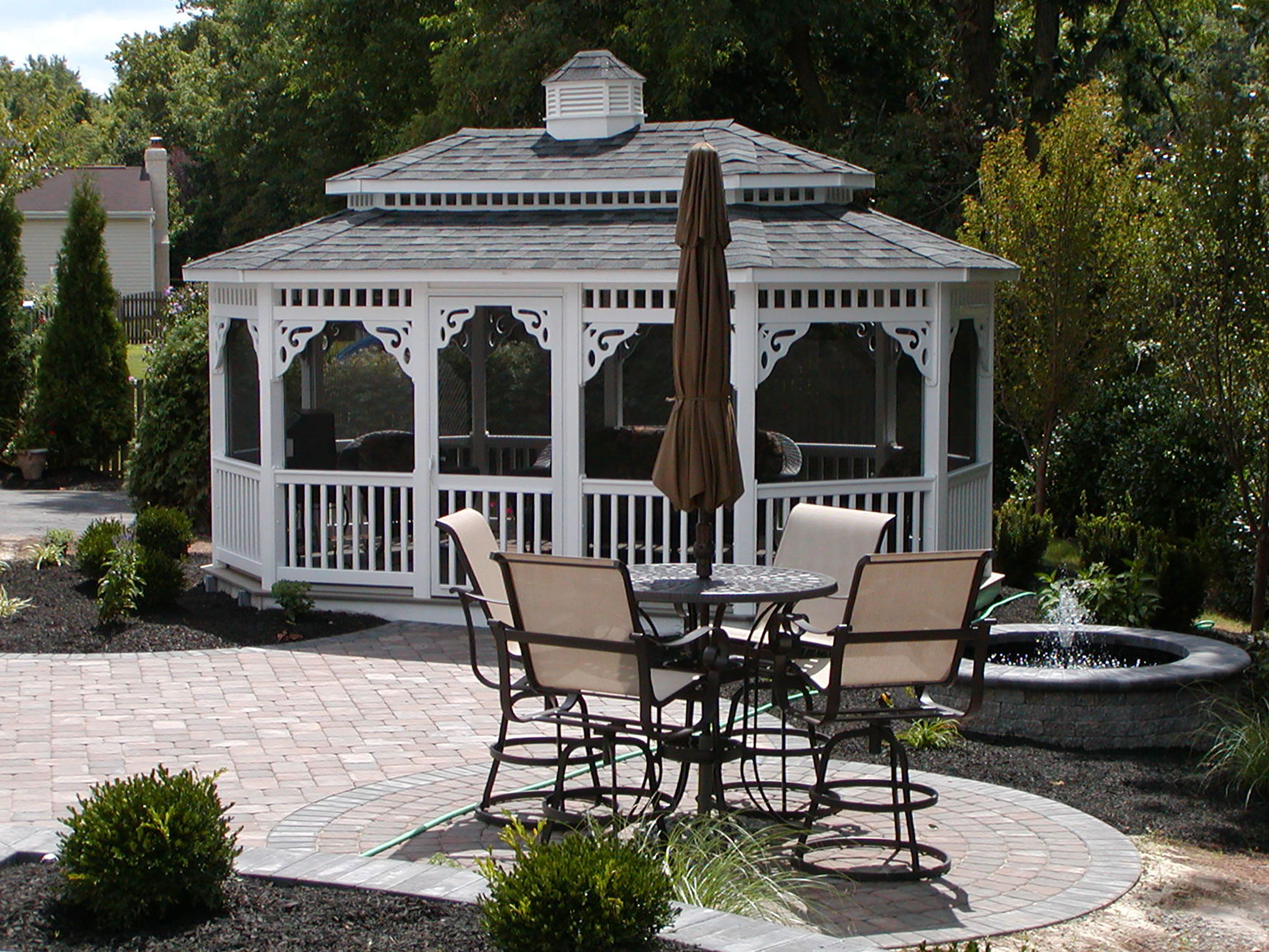 Bistro Area with Gazebo