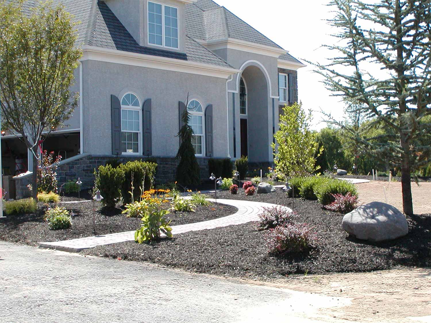 After photo - R & R Landscape Design
