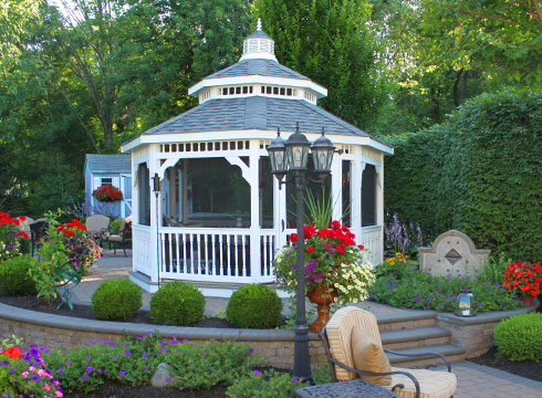 Gazebo Design Addition