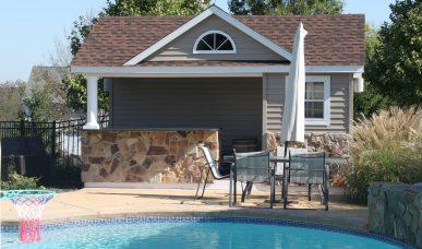 Pool House designed by R&R Caddick